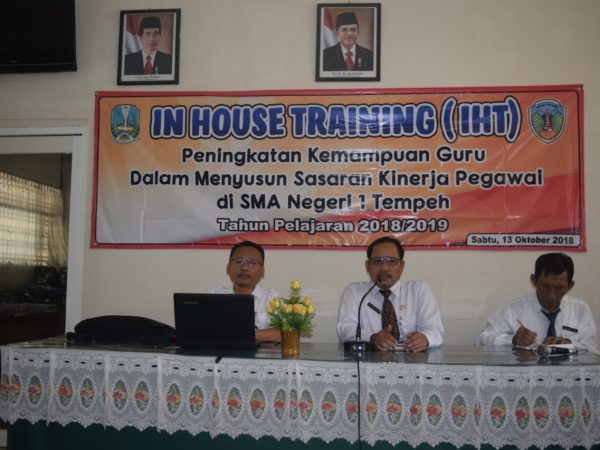 IHT (IN HOUSE TRAINING)